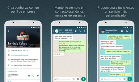 whatsapp business para negociso y tiendas